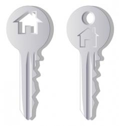 household key vector image