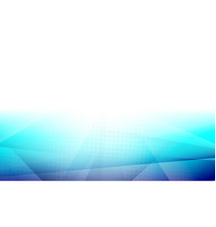 abstract blue color gradient with halftone shapes vector image