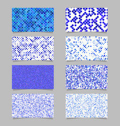 abstract diagonal square pattern mosaic card vector image