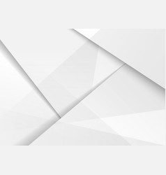 Abstract modern background design white and gray vector