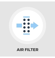 Air filter flat icon vector image
