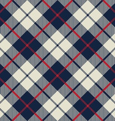 blue and beige fabric texture diagonal little vector image