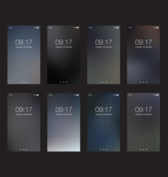 Business vertical hd backgrounds for smartphone vector
