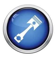 Car motor piston icon vector image