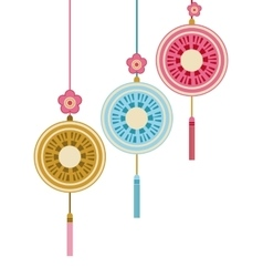 chinese decoration hanging vector image