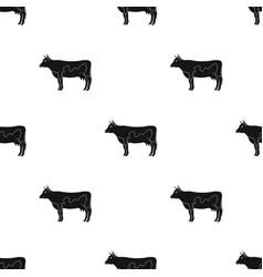 Cowanimals single icon in black style vector