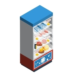 Food Collection Isometric vector