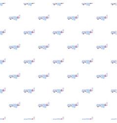 Light airplane pattern vector