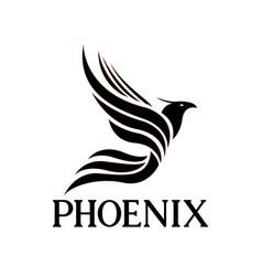 Phoenix design logo vector