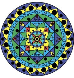Mandala Multicolored vector image vector image