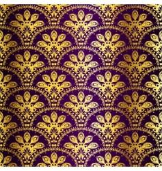 peacock sari pattern vector image