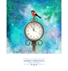 Christmas Scene vector image vector image