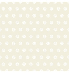 Vintage polka dots set of four seamless patterns vector image
