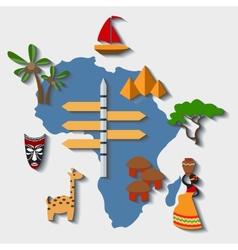 Africa travel vector