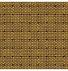 Golden weave seamless background vector