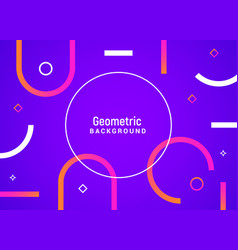 minimal geometric motion background vector image