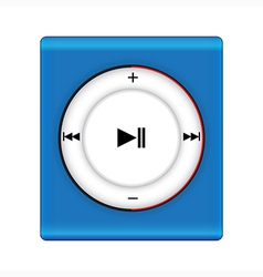 music player2 vector image