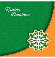 Raksha Bandhan celebration Background vector image
