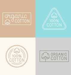 Set labels badges and design elements vector
