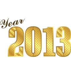Year 2013 vector