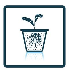 Seedling icon vector image