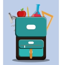 School design Education concept Learning icon vector image