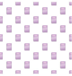 Spiral notebook with lilac cover pattern vector