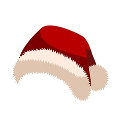 A hat of santa claus vector