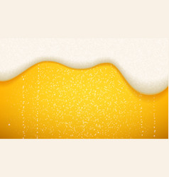 Beer foam and bubbles background seamless vector