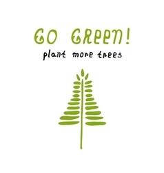 Environmentally friendly planet vector