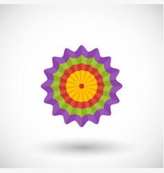 festa junina garland flat icon vector image