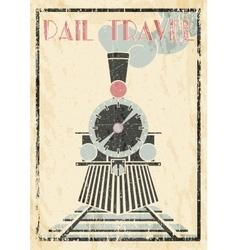 Grunge vintage Of Steam vector