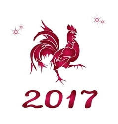 Happy Chinese new year 2017 vector