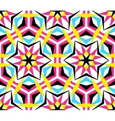 Kaleidoscope Star Pattern vector image