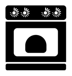 pie in oven icon simple style vector image