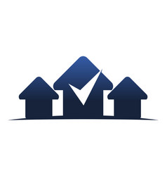 Real estate center solutions vector