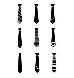 Silk tie vector
