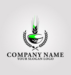 wheat eating house vector image