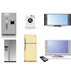 housing equipment vector image
