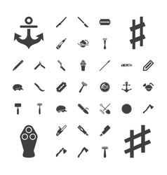 37 sharp icons vector