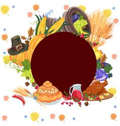 Harvest organic foods like fruit and vegetables vector