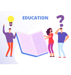 help in education education courses vector image