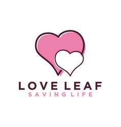 Love logo simple minimalist design valentine icon vector