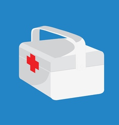 medical box vector image