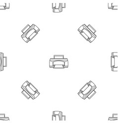 Paper printer pattern seamless vector