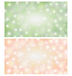 Space background light green vector image