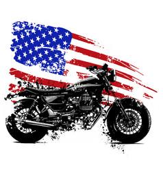 Vetor american chopper motorcycle vector