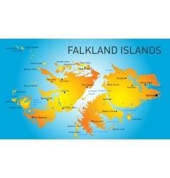 Falkland islands vector image