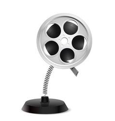 Film reel souvenir vector image