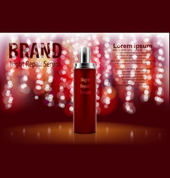 Premium ads for marketing and advertising spray vector